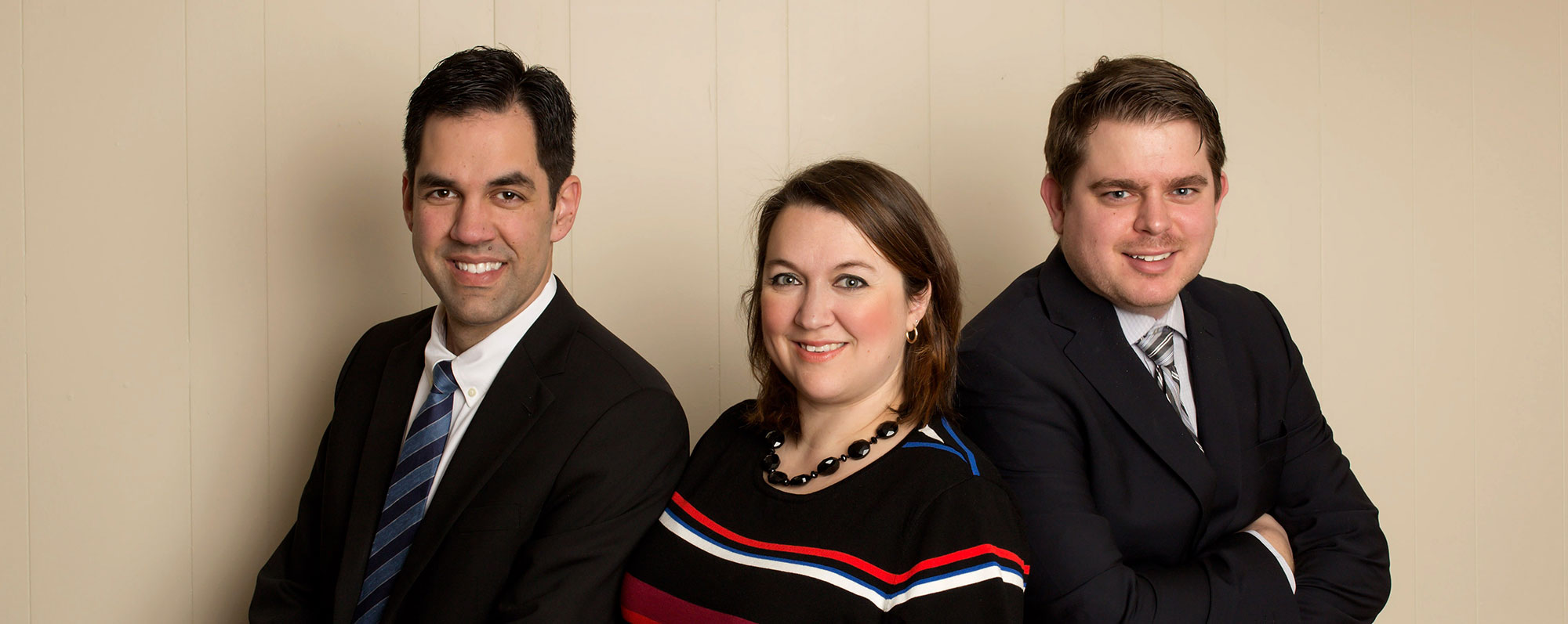 Aaron Eddie, M. Kathleen Kinch and Justin Savoy of Kinch Eddie Litigation